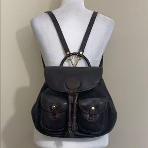 Vintage Dooney and Bourke Backpack Brown Leather